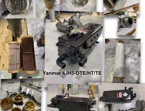 Yanmar 4JH3-DTE/HT/TE blir reparert